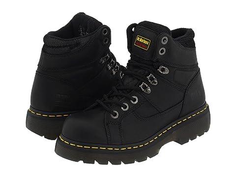 Womens Boots dr martens black work ironbridge ns my3k24r6