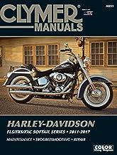 Clymer Harley-Davidson FLS/FXS/FXC Softail Series 2011-2017: Maintenance, Troubleshooting, Repair