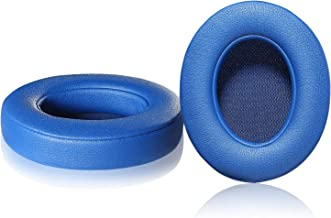 Studio 2/3 Replacement Earpads, JARMOR Memory Foam Ear Cushion Pads Cover for Beats Studio 2.0 Wired/Wireless B0500 / B0501 & Studio 3.0 Over Ear Headphones by Dr. Dre ONLY (Blue)