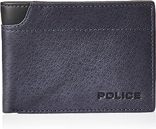 Police Waldo Mens Wallet, Card Case & Money Organizer,, Blue