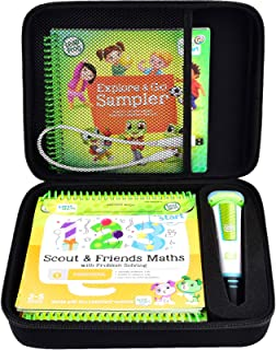 Case Compatible with LeapFrog LeapStart Go System and LeapFrog LeapStart 3D/ Pre-Kindergarten Activity Book of Level 1 2 3...
