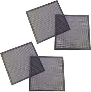 DGQ Ultra Fine Fan Filter Magnetic Frame Computer Fan Grills,Pack of 4 (140mm)
