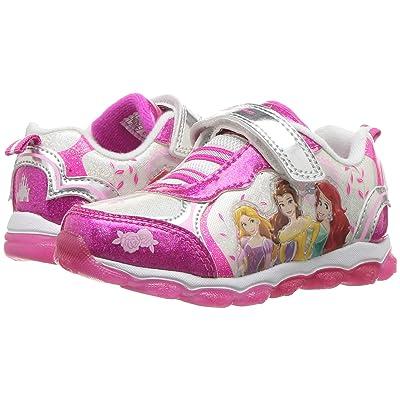 Josmo Kids Princess Sneaker (Toddler/Little Kid) (White/Pink) Girls Shoes