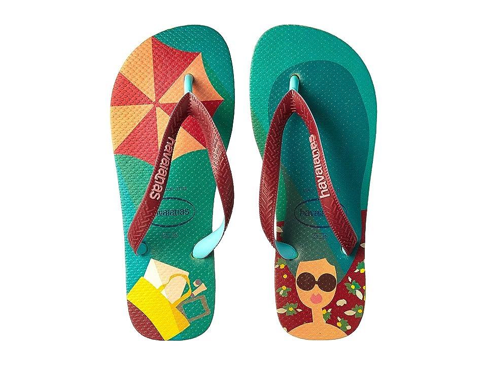 Havaianas Top Fashion Flip-Flops (Petroleum) Women