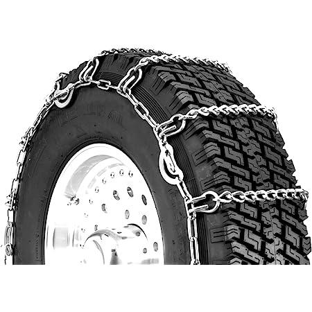 TireChain.com 245//680R460A 245//680 460A TUV Diamond Tire Chains Set of 2