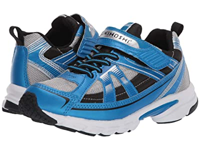 Tsukihoshi Kids Storm (Little Kid/Big Kid) (Blue/Gray) Boys Shoes