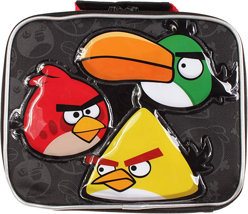 Angry Birds Mind My Angry Beak Lunch Tote