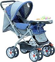 عربة اطفال من ارجو- لون ازرق