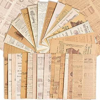 180Feuilles Papier Bullet Journal Vintage Scrapbooking Papeterie Décoratifs Rétro DIY Album Photo Décoration pour Artisana...