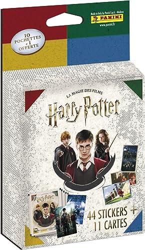 Panini France SA-LA MAGIE DES FILMS HARRY POTTER-11 pochettes, 2532-020