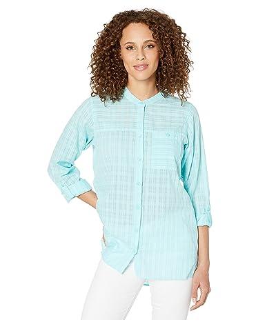 ExOfficio BugsAway(r) Collette Long Sleeve Shirt (Mystic Blue) Women