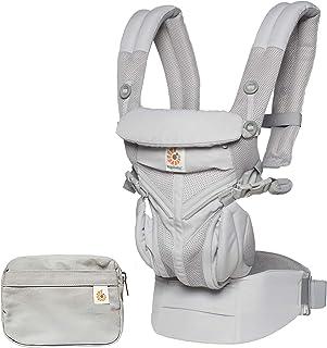 Ergobaby Ergobaby Omni 360 Cool Air Mesh Baby Carrier, Pearl Grey