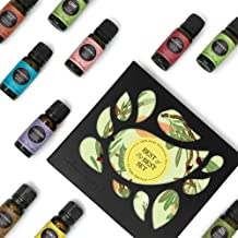 Edens Garden Best of the Best 12 Set, Top 100% Pure Essential Oil & Essential Oil Synergy Blend Aromatherapy Kit (Diffuser & Therapeutic Use, For Beginner & Seasoned Aromatherapist), 10 ml