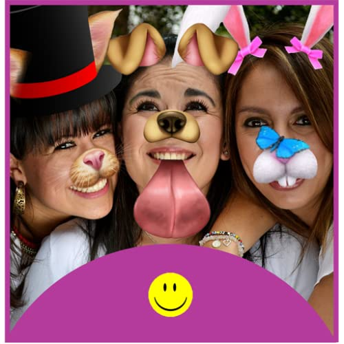 Snap Funny Doggy Face Lense