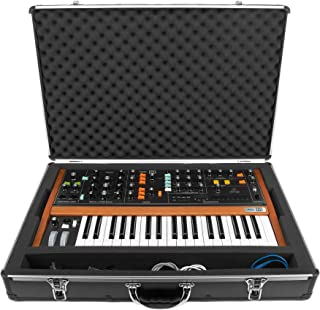 Analog Cases UNISON Case for The Behringer Poly D or similar synthesizers (transport case, aluminium corner protection, pa...
