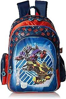 Hasbro Transformers School Backpack for Boys - Blue