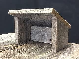 Barn Wood Nativity Stable