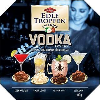 EDLE TROPFEN IN NUSS - VODKA LOUNGE 100 g / 4 Vodka - Cocktail Spezialitäten ALKOHOL PRALINEN