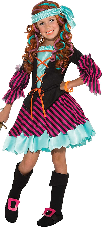 punto de venta en línea Salty Taffy Girl's Pirate Pirate Pirate Costume, Small by Rubie's  últimos estilos