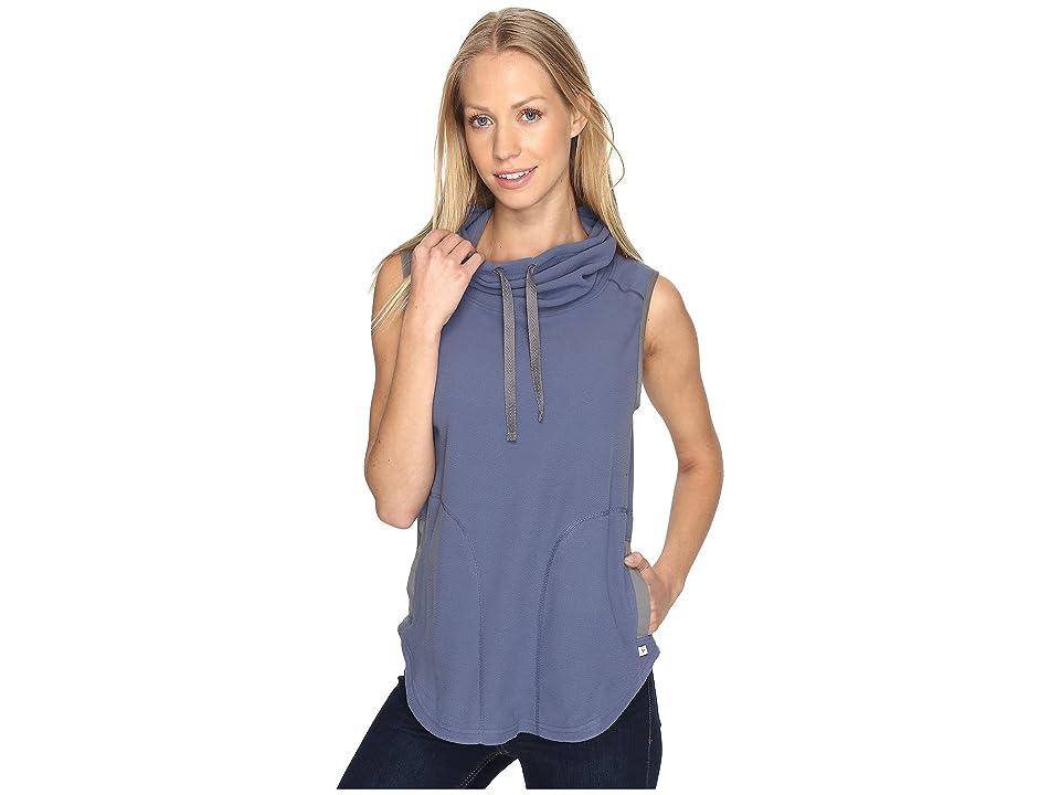 Toad&Co Sundowner Fleece Vest (Indigo) Women