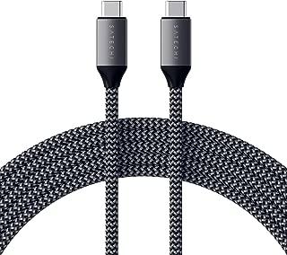 Satechi USB-C to USB-C 100W 充電ケーブル USB Type-C機器用 2M (2018 iPad Pro, 2018 MacBook Air, 2017/2018 MacBook Pro, Samsung Galaxy S10, Nintendo Switch 対応)