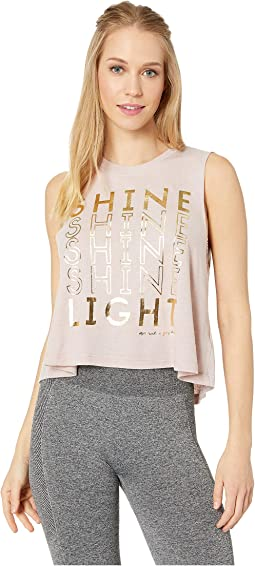 Shine Crop Tank Top