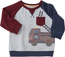 Mud Pie - Fire Truck Sweatshirt (Infant/Toddler)
