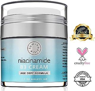 Sponsored Ad - 5% Niacinamide Vitamin B3 Cream Serum - Anti-Aging For Face & Neck. 1.7oz. Use Morning & Night. Firms & Ren...