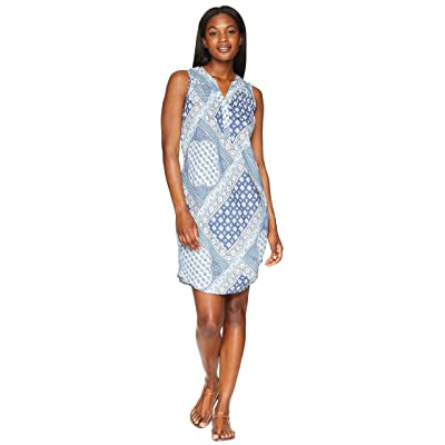Aventura Clothing Gia Dress (Blue Indigo) Women