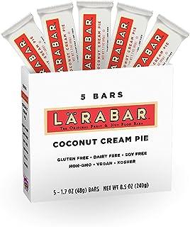 Larabar, Fruit & Nut Bar, Coconut Cream Pie, Gluten Free, Vegan (5 Bars)