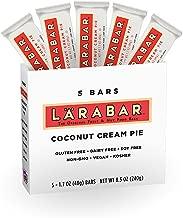 LARABAR, Fruit & Nut Bar, Coconut Cream Pie, Gluten Free, Vegan, Whole 30 Compliant, 1.7 oz Bars (5 Count)