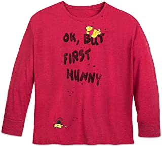 Disney Winnie The Pooh ''OK, But First Hunny'' T-Shirt for Women - Plus Size Multi