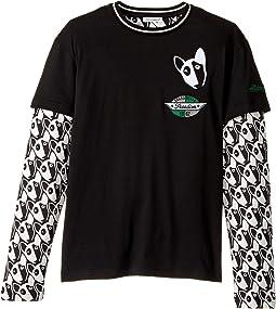 Dolce & Gabbana Kids - Bull Terrier T-Shirt (Big Kids)