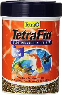 Tetra 77035 Tetrafin Floating Variety Pellets, 1.87 Oz (4 Pack)