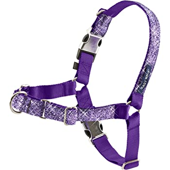 PetSafe Easy Walk Bling Dog Harness, No Pull Dog Harness – Perfect for Leash & Harness Training – Stops Pets from Pulling and Choking on Walks – Works with Small, Medium and Large Dogs