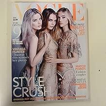 Vogue UK April 2015 Cara Delevingne Georgia May Jagger Suki Waterhouse