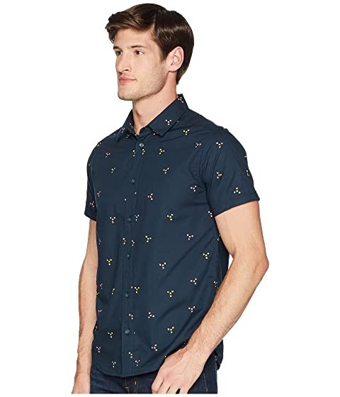 Manchester Sale Online Best Prices RVCA Tridot Short Sleeve Carbon Clearance Footlocker Pictures Discount 2018 Unisex fMxsLlMC