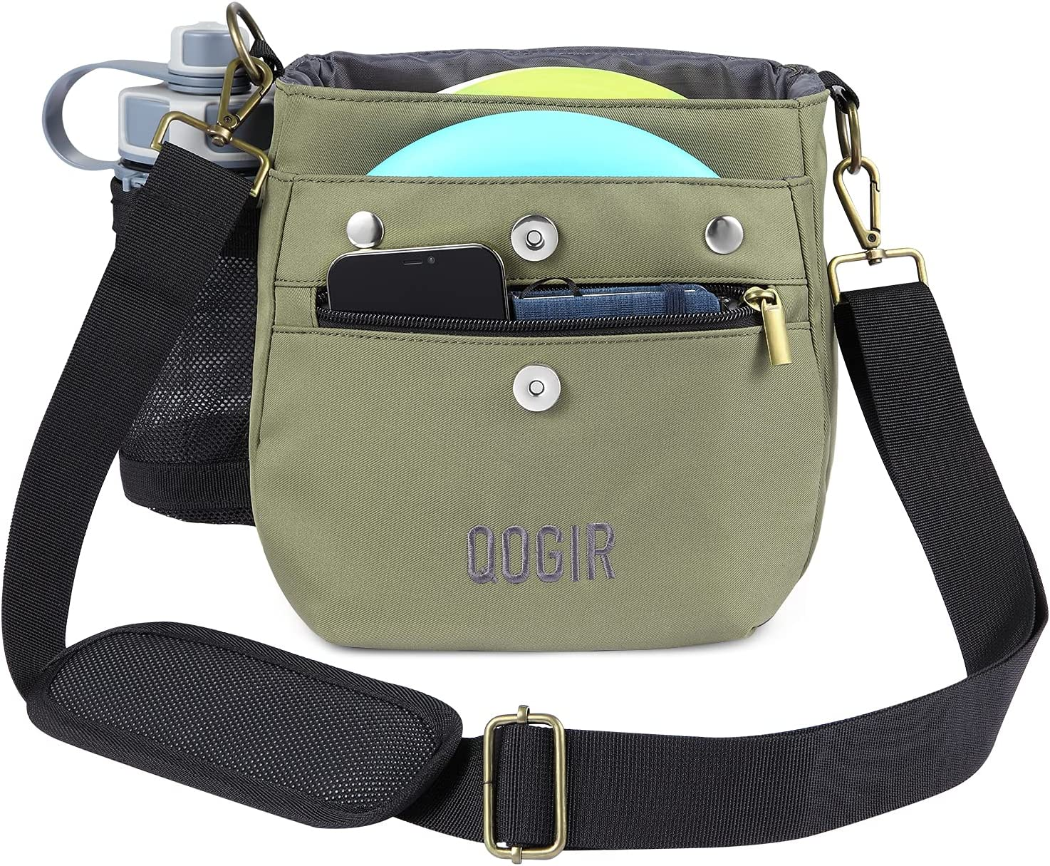 QOGIR Lightweight Disc Safety and trust Super Special SALE held Golf Bag: 8 Durable Bag with Frisbee