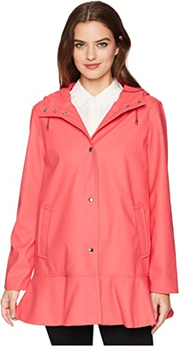 Kate Spade New York Mac Coated Peplum Jacket