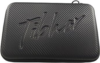Tibhar Table Tennis Racket Hard Case Square (Black)