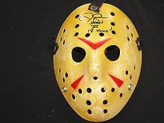 CJ GRAHAM Signed Hockey Mask 18 Kills Jason Voorhees Friday the 13th Part 6