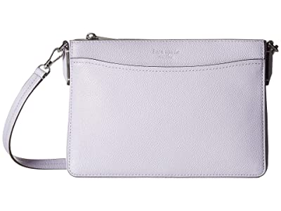 Kate Spade New York Margaux Medium Convertible Crossbody (Frozen Lilac) Handbags
