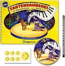 Mitropa musik Toetsenmagie - met CD + piano potlood + 7 grappige smiley-stickers - pianoschool band 1 van Aniko Drabon - d...