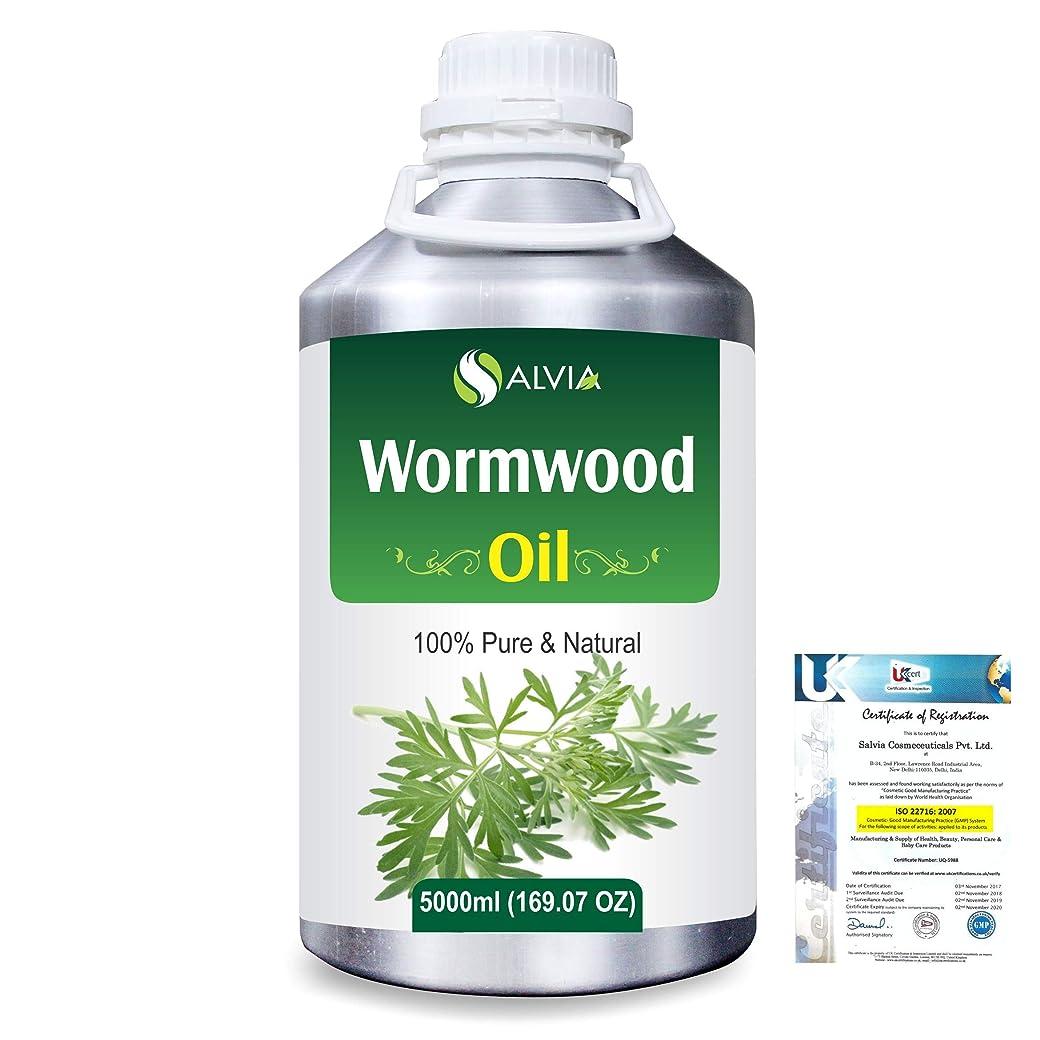 艦隊温度計勇敢なWormwood (Artemisia absinthium) 100% Natural Pure Essential Oil 5000ml/169fl.oz.