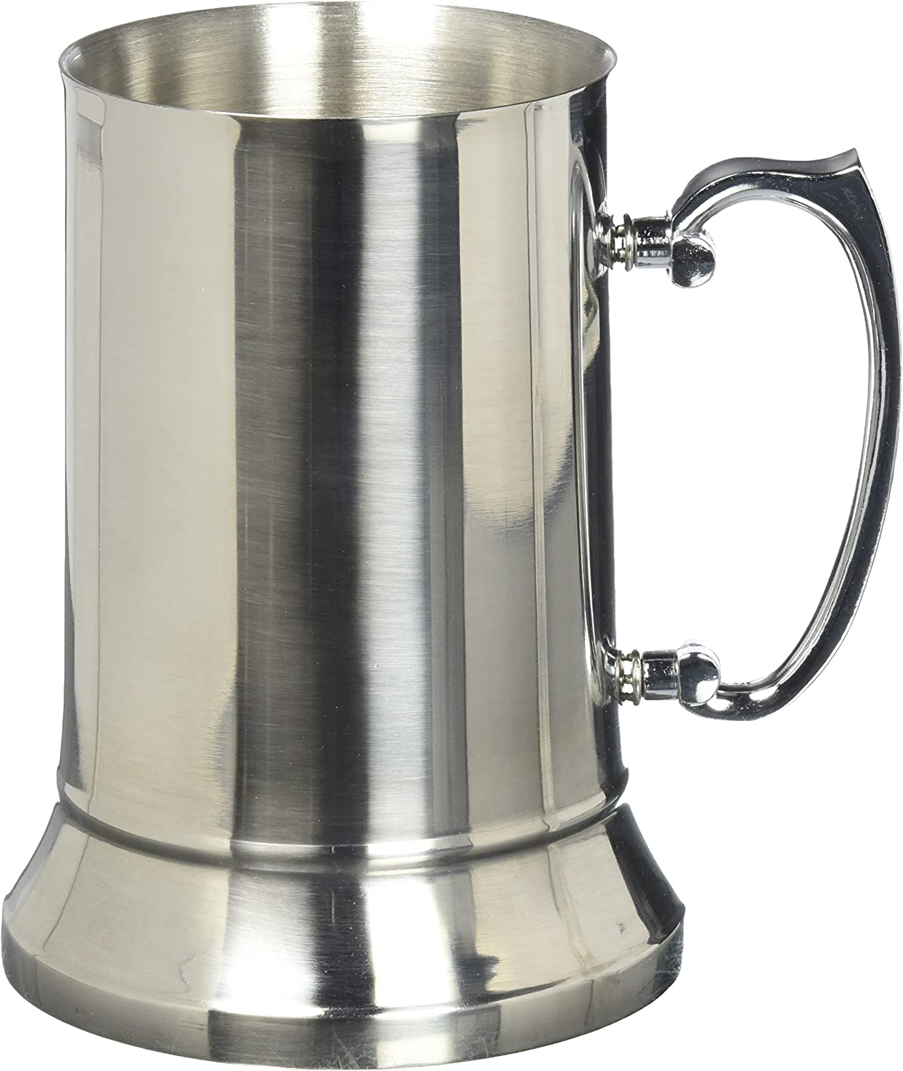 Amazon Com Maxam Stainless Steel Beer Mug 20 Ounce Kitchen Dining