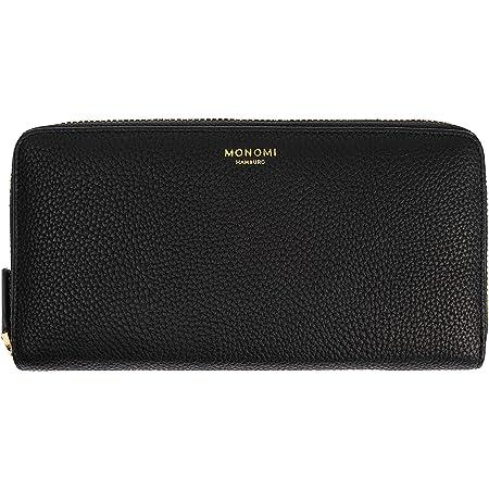 MONOMI Portemonnaie aus Kunstleder für Damen mit RFID-Schutz und Geschenkbox 10 Fächer (Schwarz)