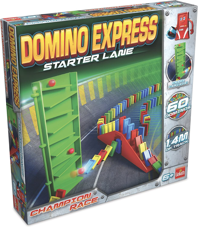 Dominó Express- Starter Lane, Multicolor (Goliath 81005) , color/modelo surtido