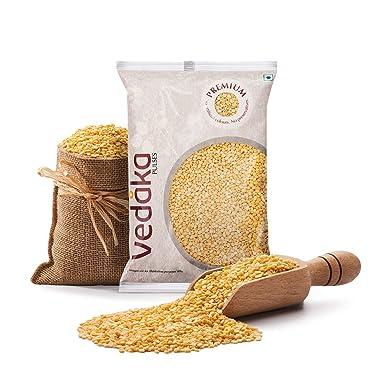 Amazon Brand - Vedaka Premium Moong Dal (Yellow), 1 kg