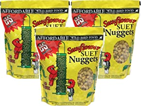 C & S B014HMU86W Sunflower Suet Nuggets, 27-Ounce (Pack of 3), 3 Packs
