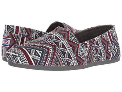 BOBS from SKECHERS Bobs Plush Rivers Edge (Charcoal/Multi) Women